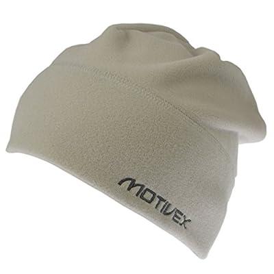 MOTIVEX Mütze, Long Beanie aus Polartec Micro-Fleece Farbe: seidengrau Grösse S-XL