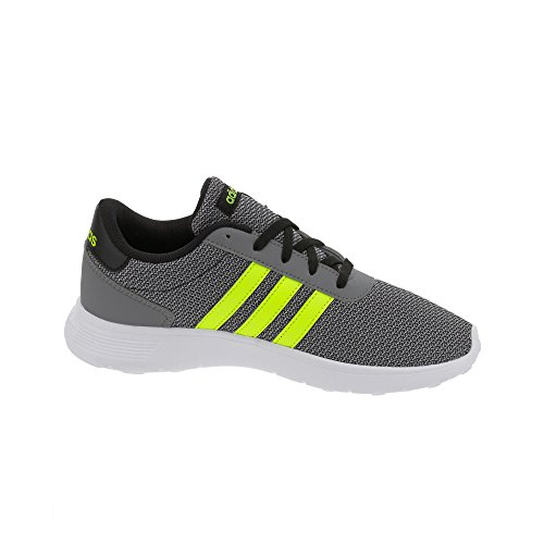 adidas Lite Racer K, Chaussures de Tennis Mixte Enfant Noir (Negbas/amasol/onicla)