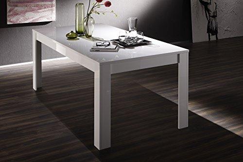 Kasama tavolo easy allungabile bianco lucido