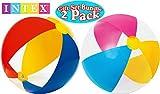 Intex Paradise Beach Bälle 24helle Farben Geschenk Set Bundle–2Pack