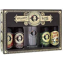 La Virgen cerveza artesana - Pack regalo de 4 x 300ml + Vaso