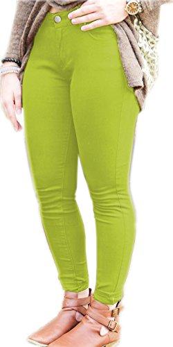 Vanilla Inc -  Jeans  - Donna Apple Green