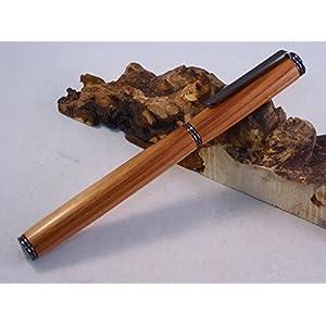 Füller Rosenholz, Holz handgedrechselt, Unikat