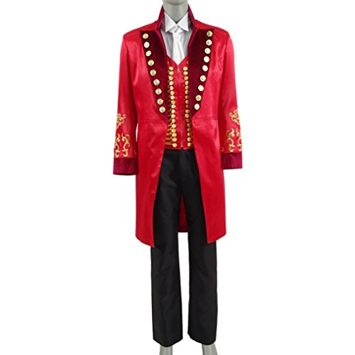 qingning Showman Uniform P.T Kostüm Mantel Hemd Cosplay Anzug (Halloween-kostüme Jahrhundert 19)