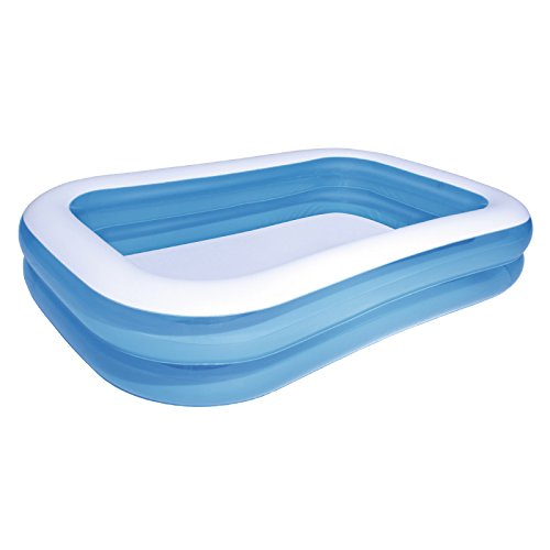LybCvad Kinder-aufblasbarer Pool Gepolsterte Baby-Planschbecken Kinder-Familien-Pool Baby-Badewanne