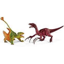 Schleich - Dimorphodon y Therizinosaurus, set pequeño (41425)