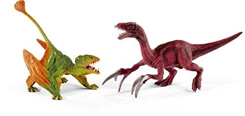 Preisvergleich Produktbild Schleich 41425 - Spielzeugfigur, Dimorphodon und Therizinosaurus, klein