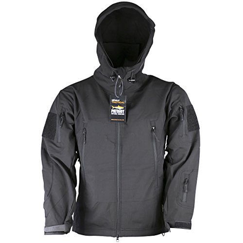 Kombat UK Herren Patriot Soft Shell schwarz