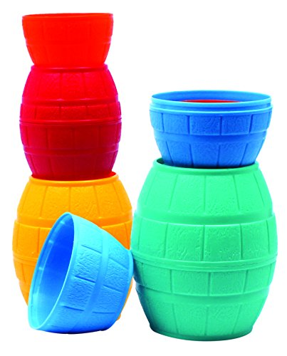 Giggles Stacking Barrels, Multi Color  available at amazon for Rs.113