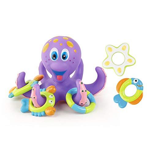 Jamicy  Bath Dolls, Spielzeug Kinder Badewanne Spielzeug, Octopus Pool Wasser schwimmenden Spaß Spielen