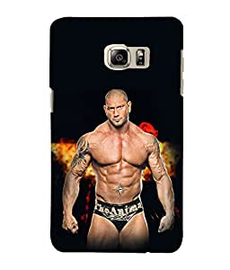 printtech Wwe Batista The Animal Back Case Cover for Samsung Galaxy Note 5 Edge::Samsung Galaxy Note 5 Edge 2