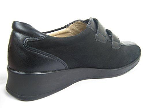 Finn Comfort Kletthallbschuh Nairobi schwarz/Na-6,5 noir