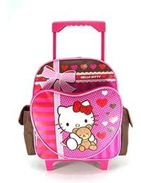 Pequeña Mochila portatil Hello Kitty con ruedas