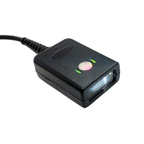 Mini Barcode Scanner, posunitech MS41002D QR-Code COMS Reader Auto POS Feste Halterung unterstützt USB Interface für Lager Management/Storage Management
