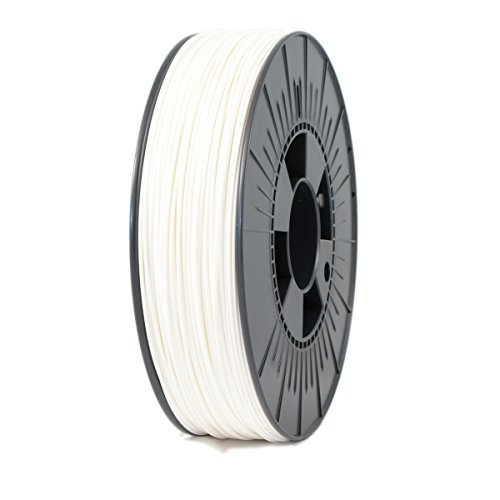 ICE FILAMENTS ICEFIL1PLA005 PLA Filament, 1.75 mm, 0.75 kg, Wondrous White