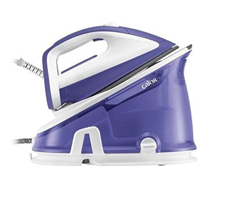 Calor Effectis Easy 2200W Ultragliss Purple Steam Ironing Station-Dampfbügelstation (Ultragliss Soleplate, Purple)