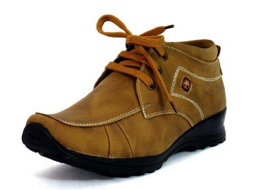 Fbt Men's 201 Dapper Brown Casual Shoes - 10
