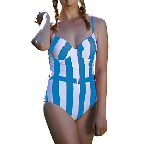 Mymyguoe Bañador Natacion 2019 Bikini Mujer Push up Tankinis...