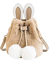 Mega Damen Moderne Umhängetasche Süße Handtasche Niedliche Schultertasche  mit Hase… acd388ac89