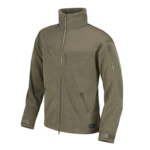 Helikon Tex CLASSIC ARMY Fleece JACKE - Oliv Grün (M) Beste Fleece-jacken