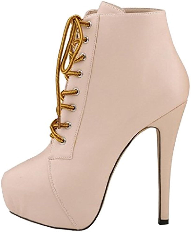 51fa043374a Calaier Women s Caquite Boots beige Size  Size  Size  3 UK B06XWSF3DV  Parent bdbb0f