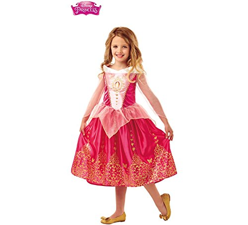 Imagen de disfraz de bella durmiente deluxe de disney para niña