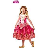 "Disney Princess Sleeping Beauty ""Gem"" Fancy Dress Costume 3-8 Years Available"