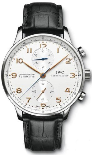 iwc-mens-black-leather-band-steel-case-automatic-silver-tone-dial-chronograph-watch-iw371445