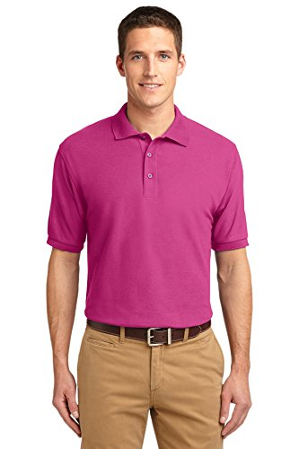 Port Authority Polo (Port Authority® Silk TouchTM Polo. K500 Tropical Pink XS)
