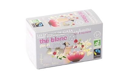 Infusettes de Thé blanc fleuri - boîte 30g