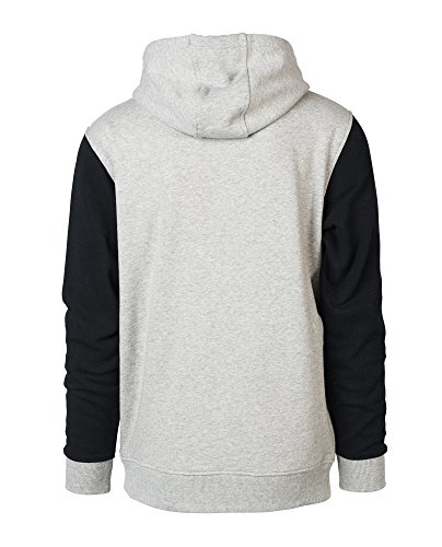 Rip Curl Undertow Pop Fleece, Felpa Uomo Cement Marle