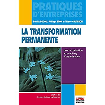La transformation permanente: Une introduction au coaching d'organisation.