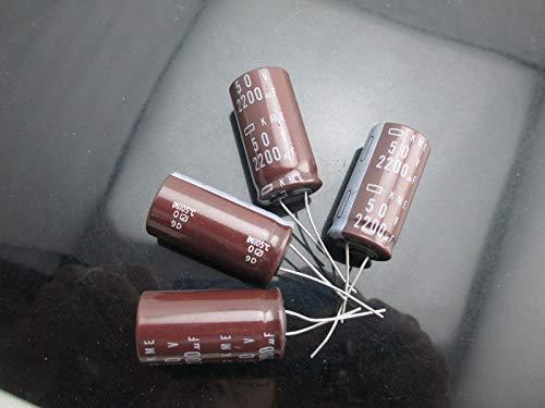 330UF 330mfd 50V Electrolytic Capacitor 105 °C 4Pcs