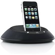 JBL On Stage IIIP Tragbares Lautsprechersystem mit Apple iPod-/iPhone-Dock (3,5 mm Stereo-Mini Stecker, Odyssey-Neodym-Wandler) schwarz