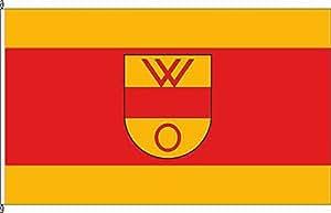 Flagge Fahne Autoflagge Olfen - 30 x 45cm