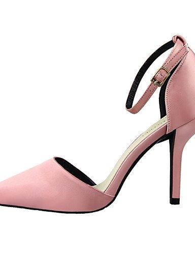 WSS 2016 Chaussures Femme-Bureau & Travail / Décontracté-Noir / Vert / Rose / Rouge / Gris-Talon Aiguille-Talons / Bout Pointu / Bout Fermé-Talons- fuchsia-us8 / eu39 / uk6 / cn39