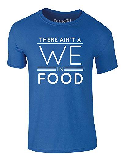 Brand88 - Cinna Told Me To Wear This, Erwachsene Gedrucktes T-Shirt Königsblau/Weiß