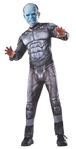 Spider-Man Electro Kostüm für Kinder - Large / (Spider Kostüme Electro Man)