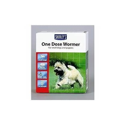 one dose wormer small dogs and puppies 3 dose pack 1