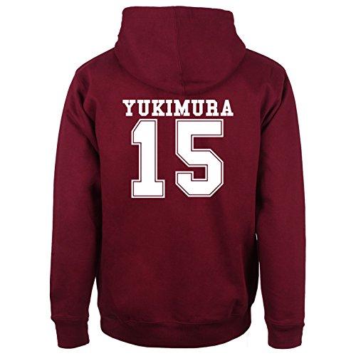 Beacon Hills Lacrosse HOODIE Wolf 15 Teen Yukimura – Medium – Yukimura 15