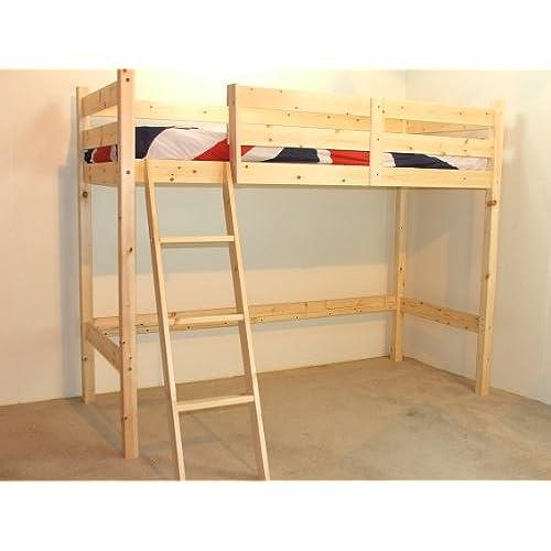 Pine Loft Bed Amazoncouk