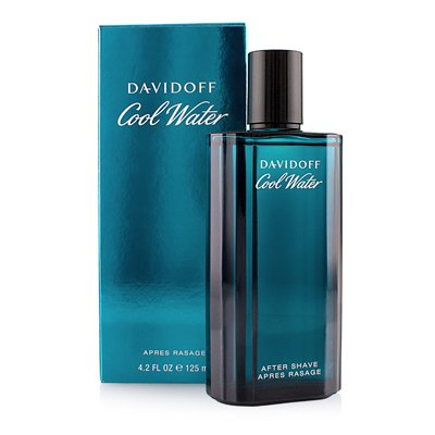 Davidoff COOL WATER homme/man, After shave, 1er Pack (1 x 125 ml)