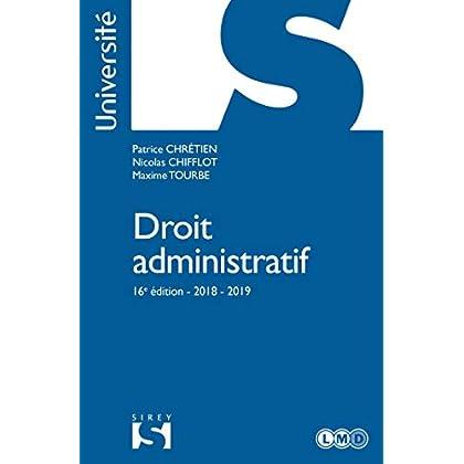 Droit administratif - 16e éd.