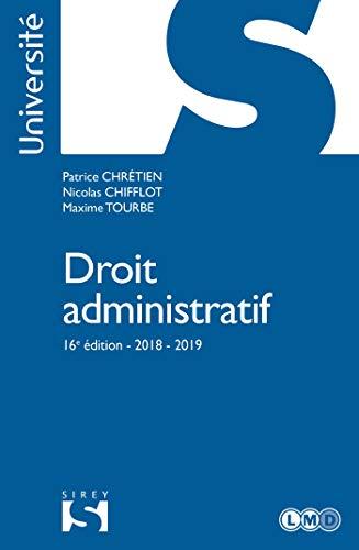 Droit administratif - 16e éd. par Patrice Chrétien