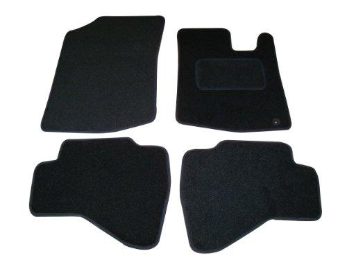 Sakura tappetini per auto, colore: nero