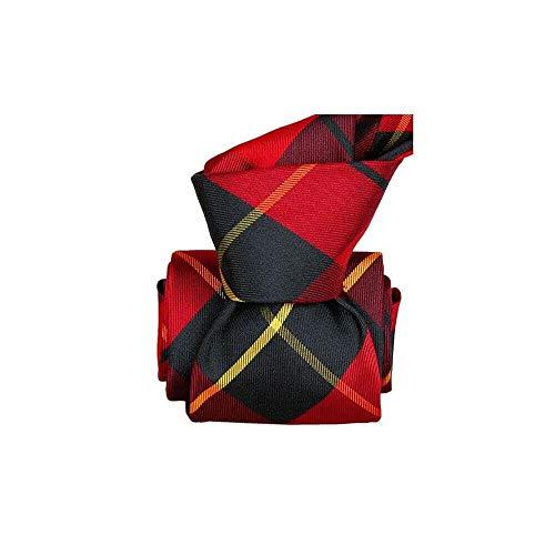 Segni et Disegni - Cravate Classique Segni Disegni, Belfast, Carreaux