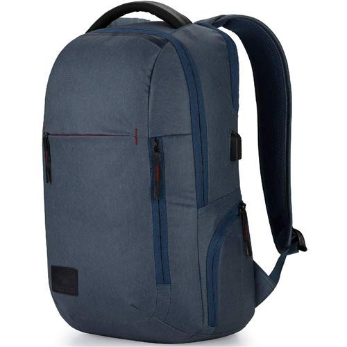 High Sierra Business Proslim USB-Pack Blau Rustic Blue Hthr/Chili Pepper (Sierra-computer-rucksack High)