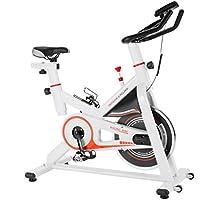 Preisvergleich für Homgrace Indoor Cycle Cycling Bike Speedbike Heimtrainer Fitnessbike Fitness Fahrrad mit 13KG Schwungrad für Zuhause, bis 150 kg belastbar