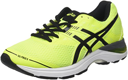 Asics Gel-Pulse 9, Scarpe da Running Uomo, Giallo (Safety Yellow/Black/Carbon), 42.5 EU