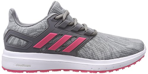 adidas Energy Cloud 2 W, Scarpe da Running Donna Grigio (Grey Two F17/Real Pink S18/Grey Three F17)